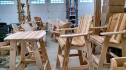 Furniture is Made Right Here in Lake George New York